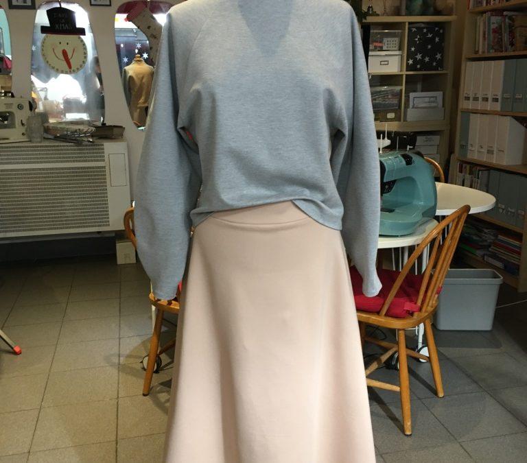 Masterpiece #9 : La longue jupe trapèze