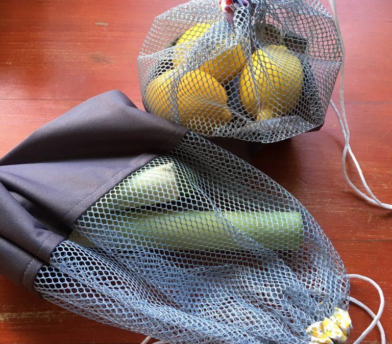 Oekaki Flash #85 : Des sacs à vrac Courses & Frigo