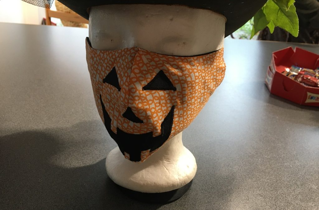Oekaki Flash Express : Un masque d'Halloween