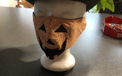 Oekaki Flash Express : Un masque d'Halloween