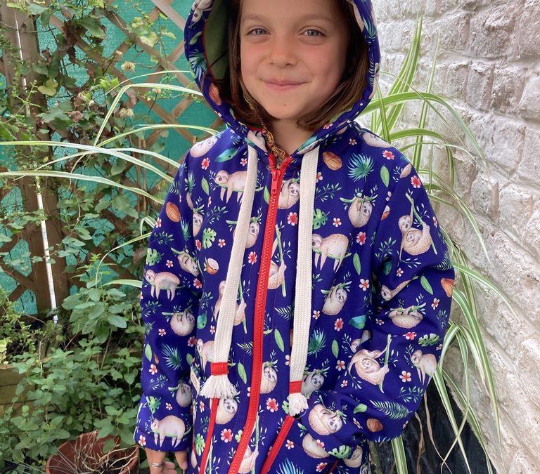 Rainy Days : une veste zippée en softshell